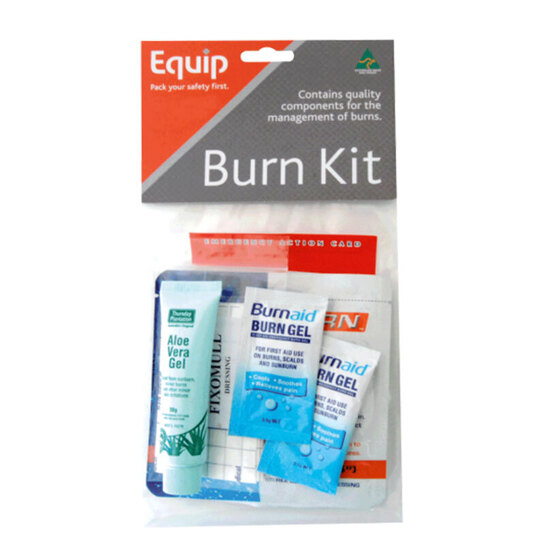 Equip Burn First Aid Kit