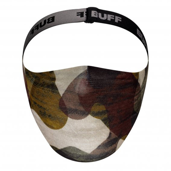 Buff Filter Face Mask Adult Reusable Burj Multi