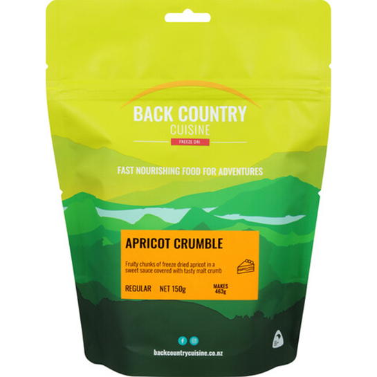 Back Country Cuisine Freeze Dried Dessert - Regular