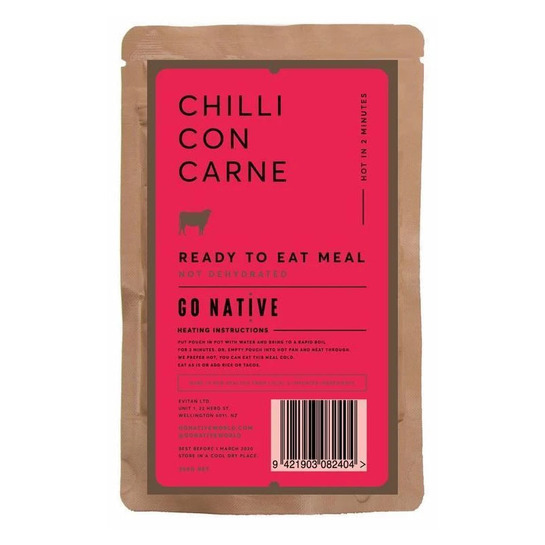 Go Native Chilli Con Carne Meal 250g