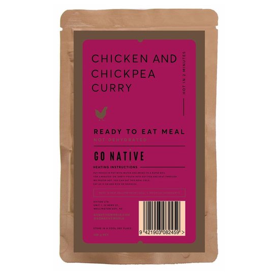 Go Native Chicken & Chickpea Curry Meal 300g