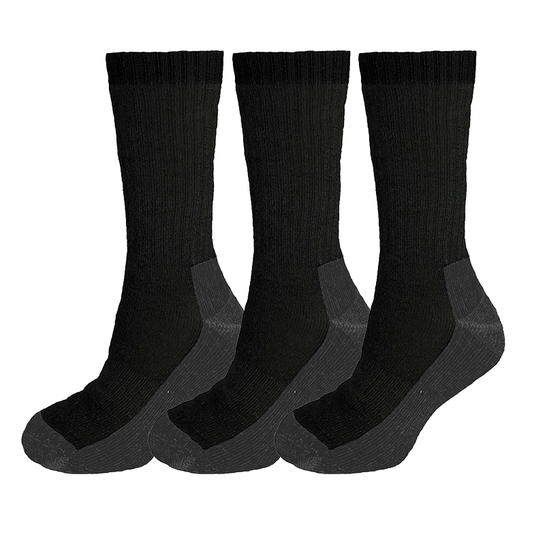 ThermaTech 3 Pack Outdoor Crew Socks
