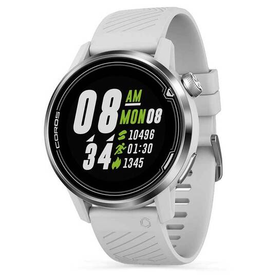 Coros APEX Multisport GPS Watch 42mm White/Silver