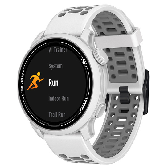 Coros Pace 2 Premium GPS Watch White with Silicon Band